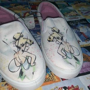 🏰Disney ✨Tinkerbell Slip-on Sneakers